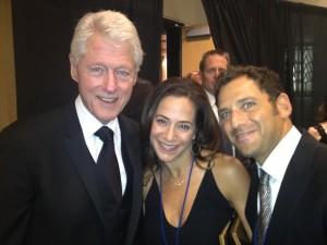 Novick's Meet President Clinton